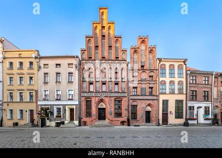 Torun, Poland - July 05 2018: House of Kopernik - museum commemorate Nicolaus Copernicus - Stock Image