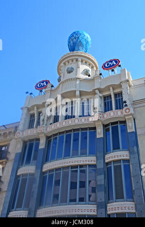 C&A boutique, Casa Damians, Carrer de Pelai, Barcelona, Catalonia, Spain - Stock Image