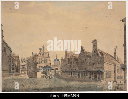 Friese Poort 1809 258 - Stock Image