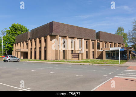 Wrexham County and Family Court buidings in Bodhyfryd Wrexham North Wales - Stock Image