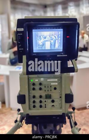 Sony television broadcast camera - Stock Image