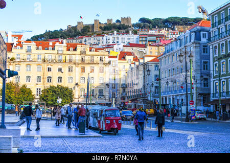 Lisbon City capital of Portugal - Stock Image