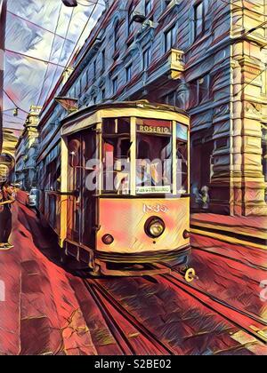 Tram - Stock Image