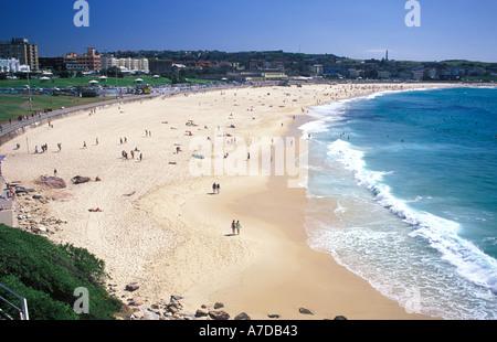 Australia New South Wales Sydney Bondi Beach - Stock Image