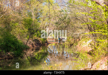 A Spring River - Stock Image