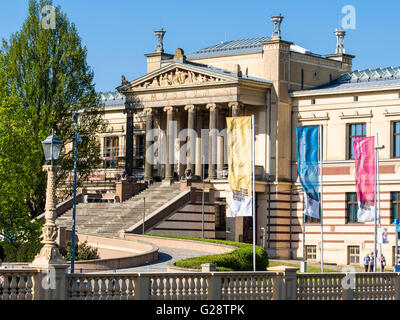 State museum Schwerin, located nearby the castle Schwerin (Staatliches Museum Schwerin - Kunstsammlungen) , Schwerin, - Stock Image