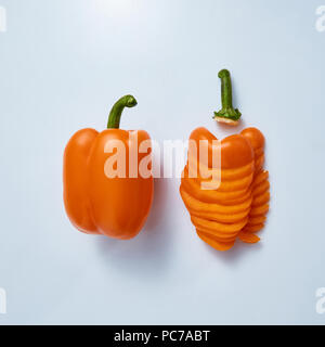 bell pepper - Stock Image