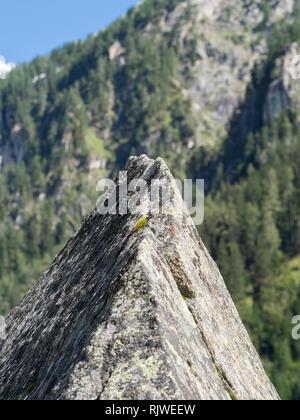 Rock formation landscape - Stock Image