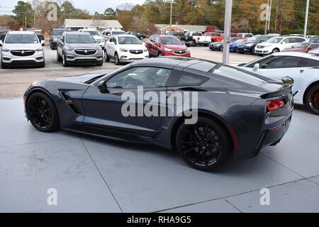 Corvette C7 Stingray Gran Sport. - Stock Image