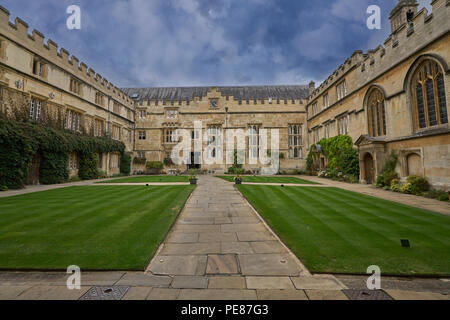 jesus college oxford - Stock Image