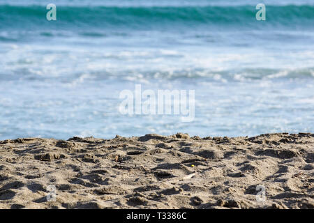 sea sand sky and summer day - Stock Image