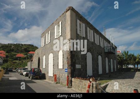 Wall House Municipal Museum Gustavia St Barths Saint Barthelemy - Stock Image
