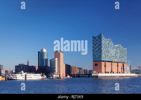 Elbphilharmonie, HafenCity, Hamburg, Deutschland - Stock Image