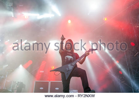 GOJIRA performing live, 10 juillet 2015 - Stock Image