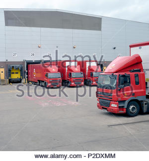 Royal mail depot, Wolverhampton, West Midlands - Stock Image