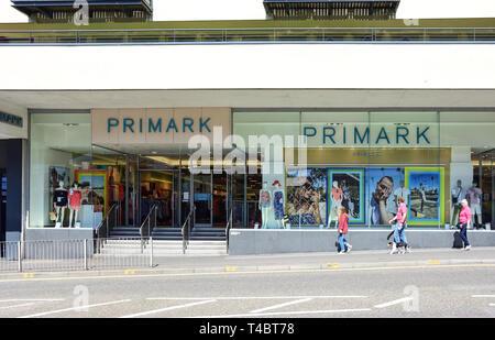Primark Department Store, Bridge Street, Inverness, Highland, Scotland, United Kingdom - Stock Image