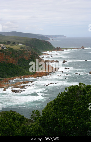 The Heads, Featherbed Nature Reserve, Knysna Lagoon, Western Cape, South Africa. - Stock Image
