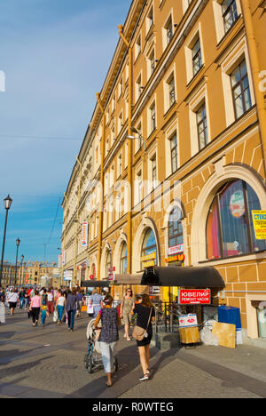 Sennaya Square, Saint Petersburg, Russia - Stock Image