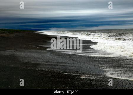Sea of Okhotsk, Kamchatka Peninsula, Russia - Stock Image