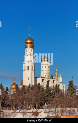 Ivan the Great Bell Tower, Kremlin, Moscow, Russia - Stock Image