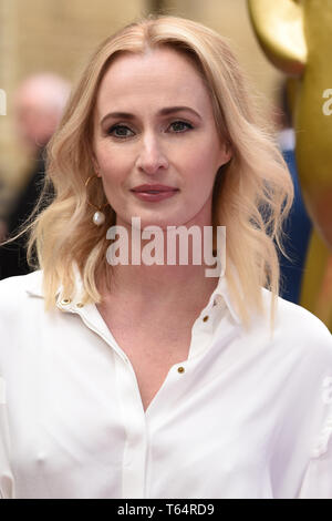 LONDON, UK. April 28, 2019: Genevieve O'Reilly at the BAFTA Craft Awards 2019, The Brewery, London. Picture: Steve Vas/Featureflash - Stock Image