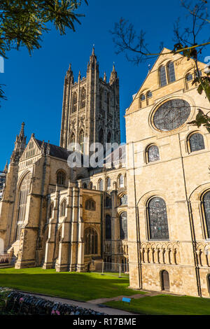 Canterbury Cathedral,Bell Harry Tower,Canterbury,Kent,England,UK - Stock Image
