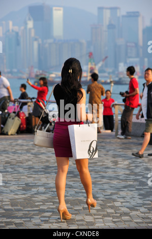 Going for a late afternoon date, Hong Kong SAR CN - Stock Image