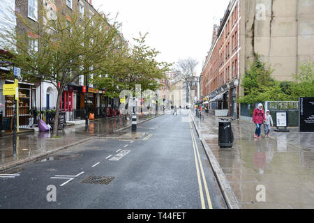Marchmont, Street, Camden, LOndon, WC1, UK - Stock Image