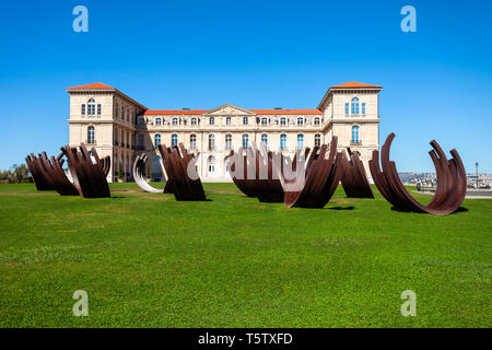 The Palais du Pharo is a palace in Marseille city in southern France - Stock Image