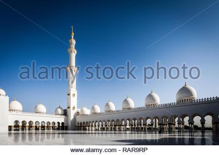 Abu Dhabi - Stock Image