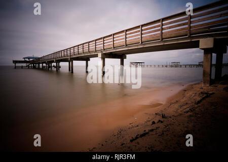 East Shore of Mobile Bay at Daphne, Alabama, USA - Stock Image
