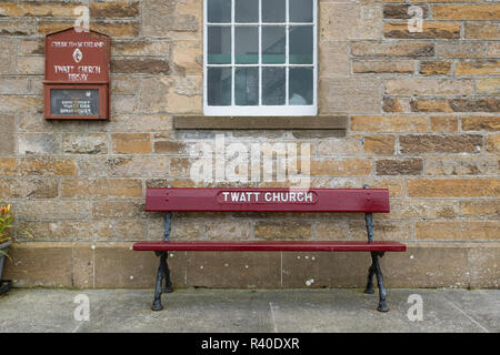 Twatt Church, Twatt, Orkney, Scotland, UK - Stock Image