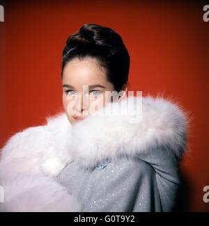 Géraldine Chaplin / Doctor Zhivago / 1965 directed by David Lean [Carlo Ponti Production / Metro-Goldwyn-Mayer] - Stock Image