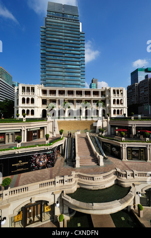 The Heritage 1881 hotel courtyard, Hong Kong SAR - Stock Image
