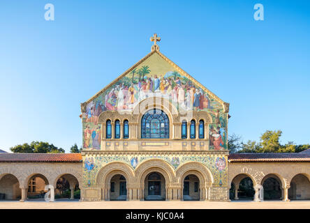 Stanford Memorial Church on Stanford University campus Palo Alto California - Stock Image