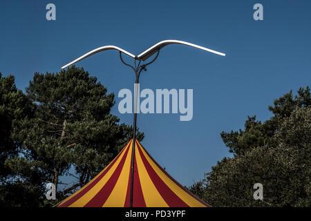 Festival Bout du Monde 2018 à Crozon Brittany - Stock Image