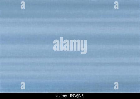 Bright white sky blue pale pastel fiber linen texture swatch background detailed horizontal macro closeup rustic vintage textured fabric burlap canvas - Stock Image
