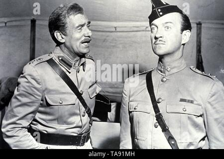 SOLDIERS THREE (1951)  WALTER PIDGEON  DAVID NIVEN  TAY GARNETT (DIR)  MOVIESTORE COLLECTION LTD - Stock Image