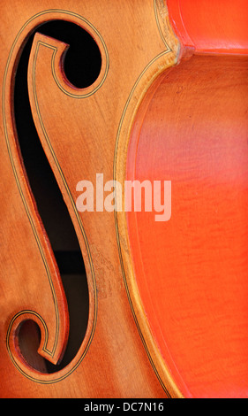 A close-up of a musical instrument - Stock Image