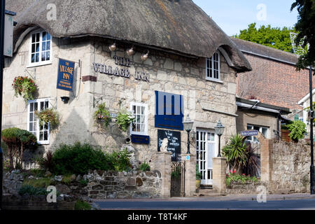 Exterior view of the Village Inn, Old Shanklin, Isle of Wight - Stock Image