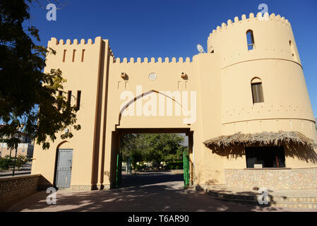 The Falaj Daris Park in Nizwa, Oman. - Stock Image