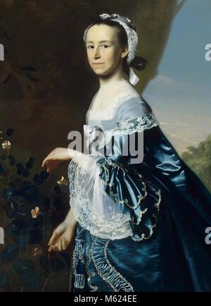 Portrait of Mercy Otis Warren (1728-1814) - Stock Image