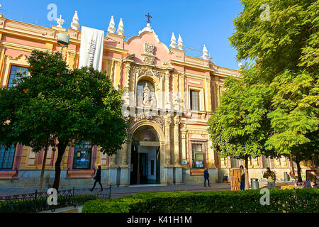 Museum of Fine Arts of Seville,Spain - Stock Image