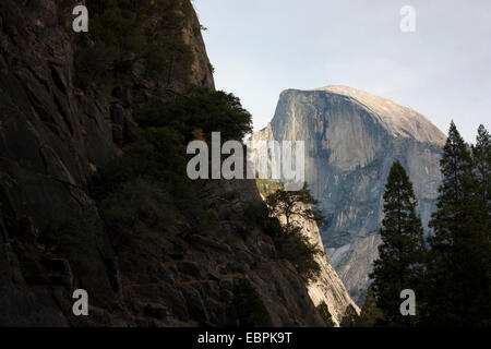 Half Dome. Yosemite Valley, Yosemite National Park, Mariposa County, California, USA - Stock Image