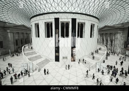 The Great Court, British Museum - Stock Image