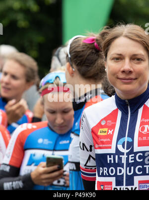 Vita Heine Norwegian national road race champion - Stock Image