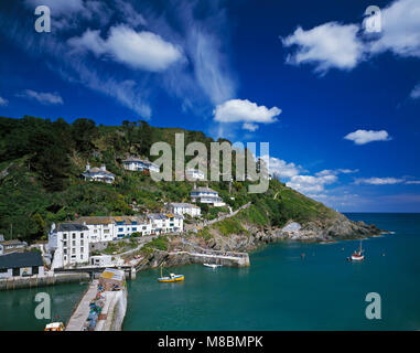 Polperro Cornwall England UK - Stock Image
