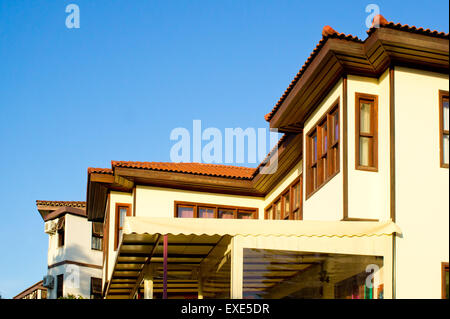 Renovated traditional Ottoman houses in Turkey - Stock Image