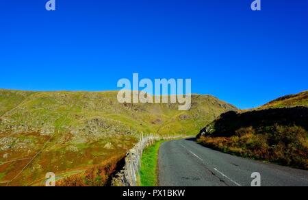 Kirkstone Pass,Ambleside,Lake District,Cumbria,England,UK - Stock Image