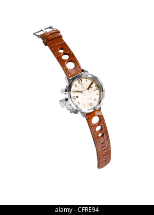 A cut out of a modern man's watch - Stock Image